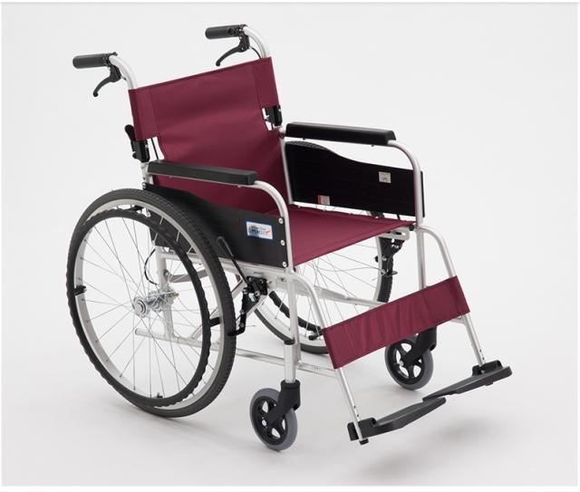 手动轮椅车 (MIKI航太铝合金轮椅)MPT-43JL