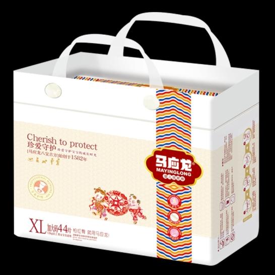 马应龙  珍爱守护婴儿纸尿裤XL码(44片/包)【组合装*2】