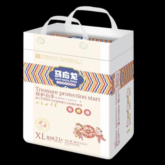 马应龙  珍护起步拉拉裤XL码(21片/包)【组合装*4】