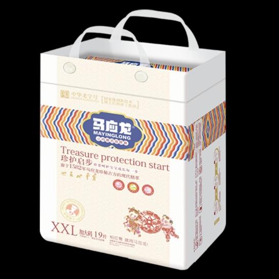 马应龙  珍护起步拉拉裤XXL码(19片/包)【组合装*4】