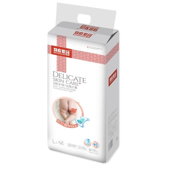 马应龙  婴儿纸尿裤L码(42片/包)【组合装*2】