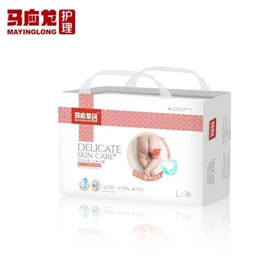 马应龙  婴儿拉拉裤L码(36片/包)【组合装*2】